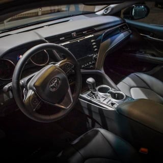 Martin Truex Jr's customized Toyota Camry