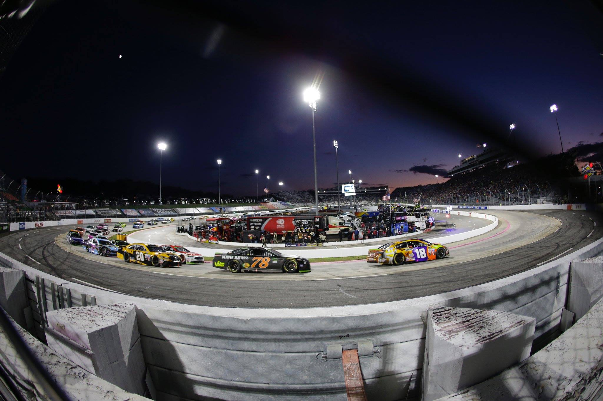 Martinsville really doesnt need much introduction one of the few remaining short tracks on the NASCAR Sprint Cup schedule the Virgina paperclip has had yet another
