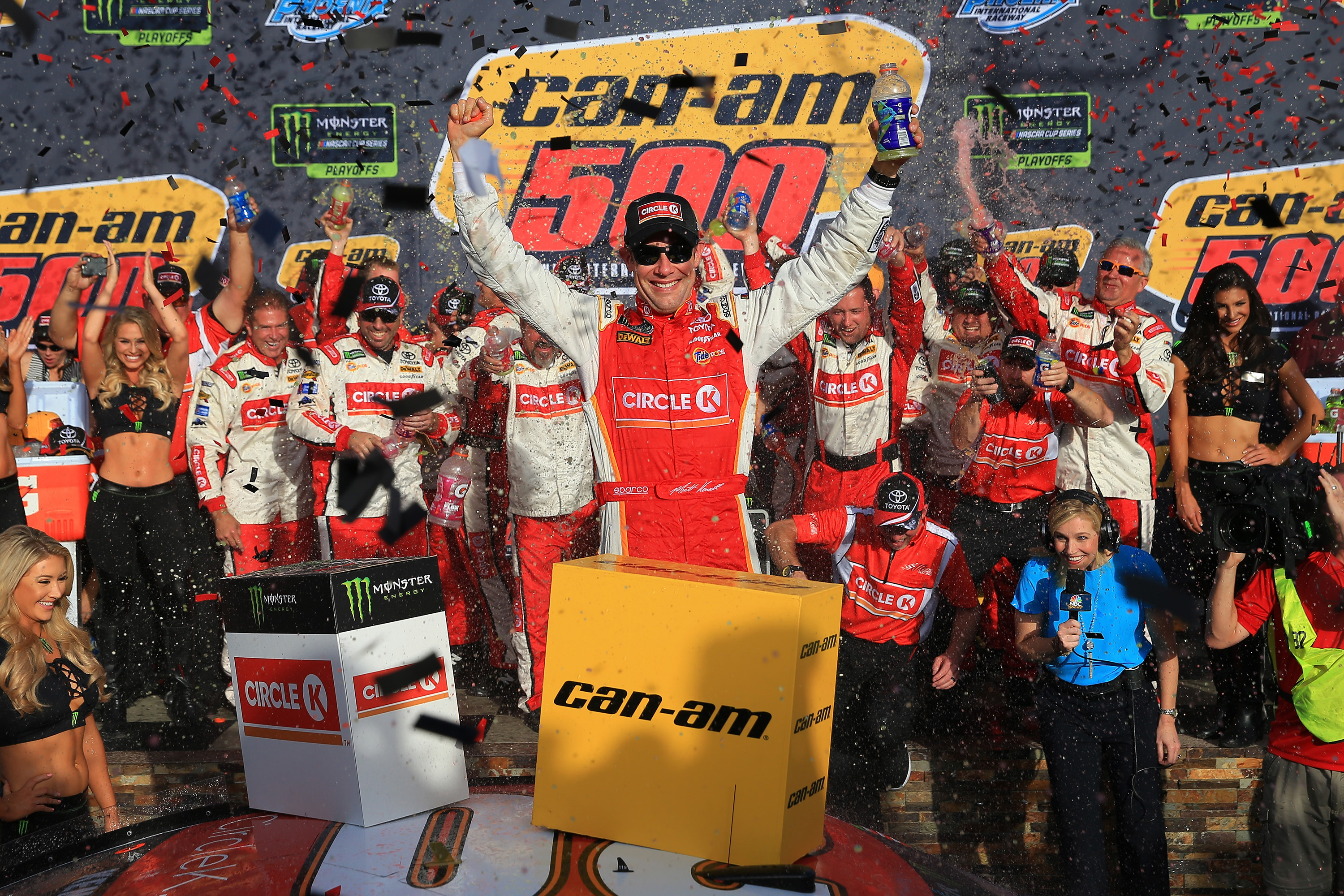 Matt Kenseth in victory lane