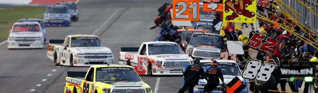 'The right' to be on the NASCAR circuits