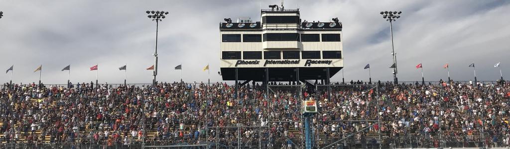 NASCAR had a sellout!