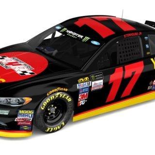 Robert Yates Racing tribute paint scheme