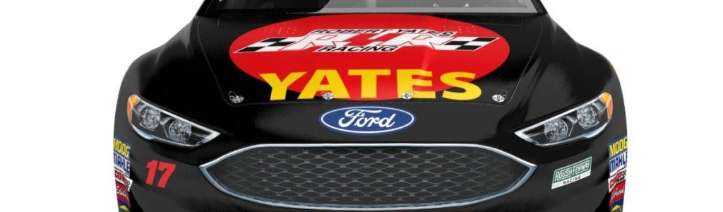 Roush Fenway Racing Robert Yates tribute car