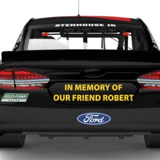 Robert yates tribute paint scheme - Roush Fenway Racing