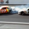 Rusty Wallace spins Darrell Waltrip