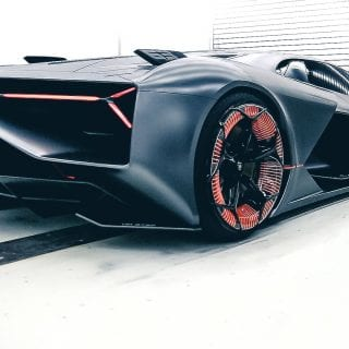 Terzo Millennio - Electric super car