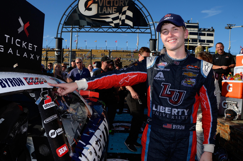 William Byron wins at Phoenix Raceway