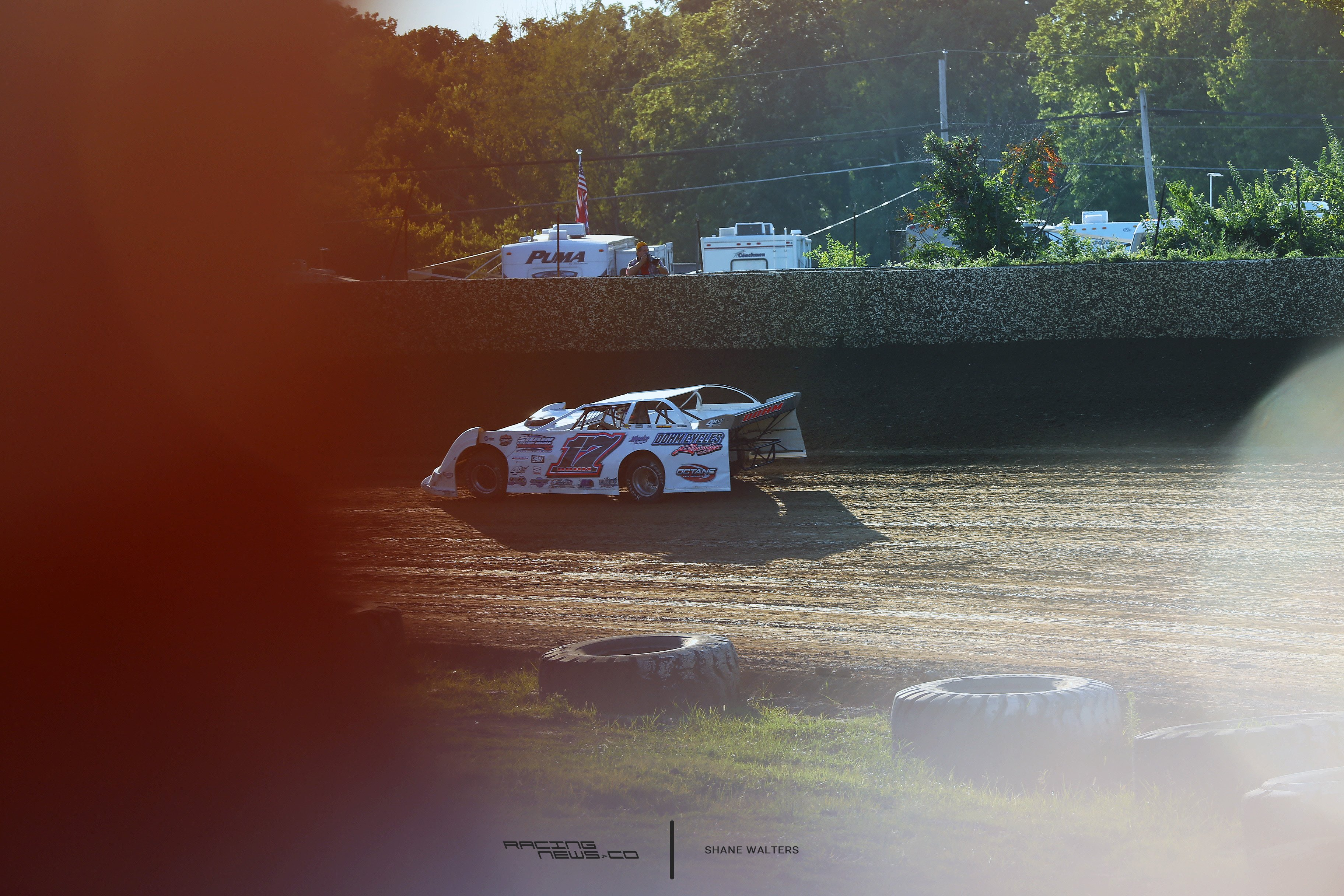 Zach Dohm at Florence Speedway 2944