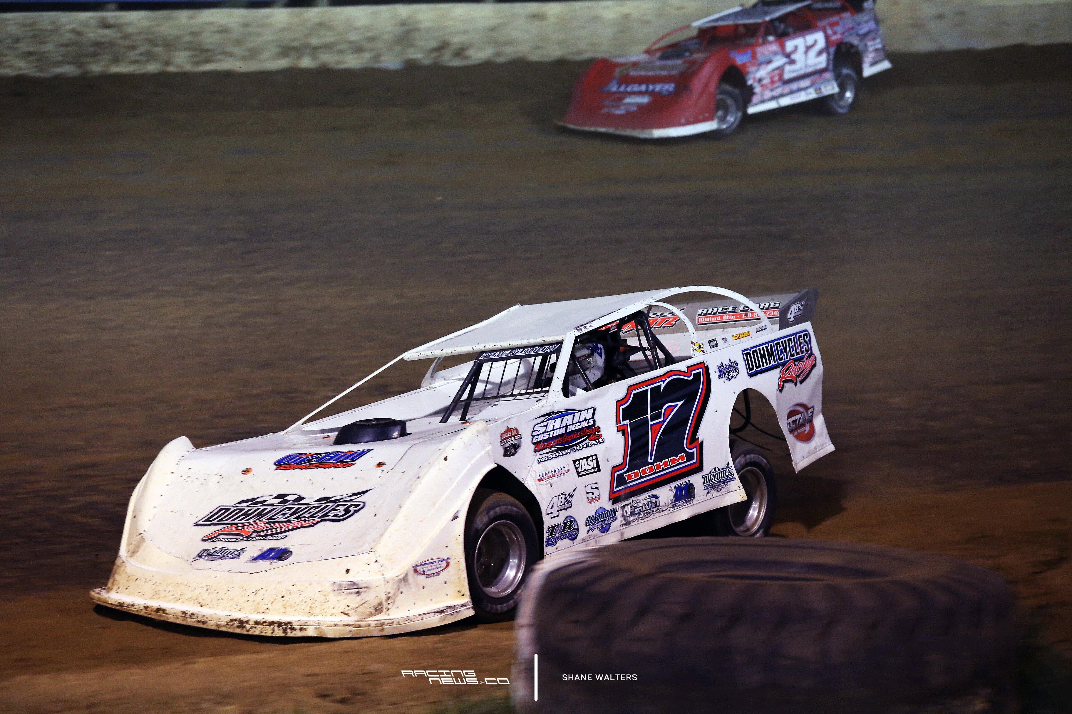 Zach Dohm at Florence Speedway 3437