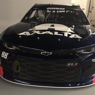 2018 Alex Bowman Axalta Racing paint scheme