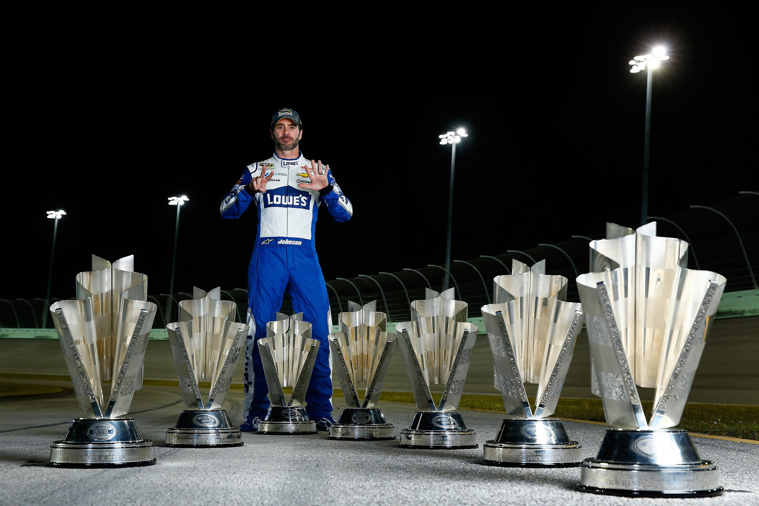 7-time NASCAR Champion - Jimmie Johnson