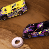 Billy Moyer Sr and Rusty Schlenk at the Gateway Dirt Nationals 3643