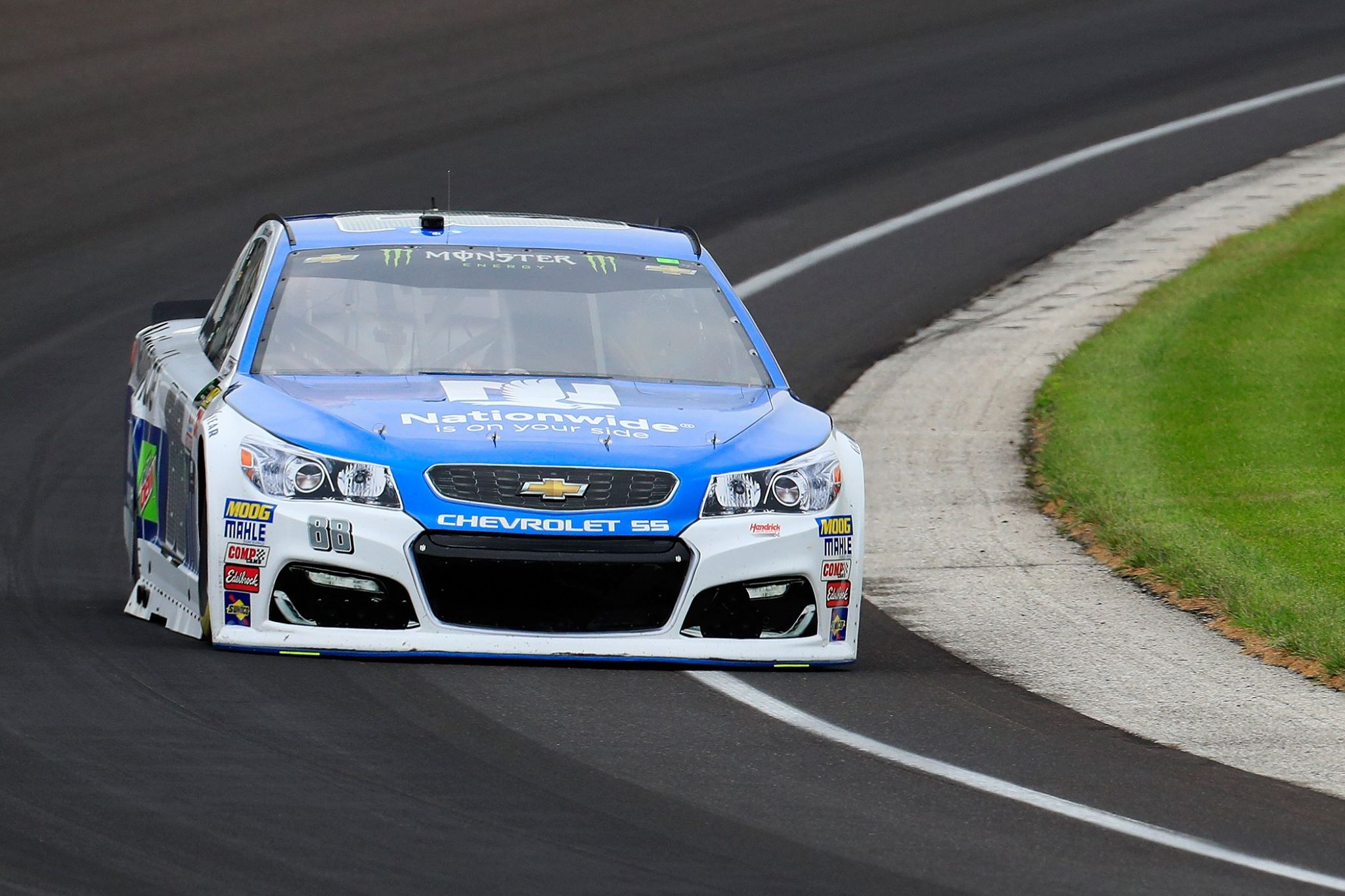 Dale Earnhardt Jr at Indianapolis Motor Speedway