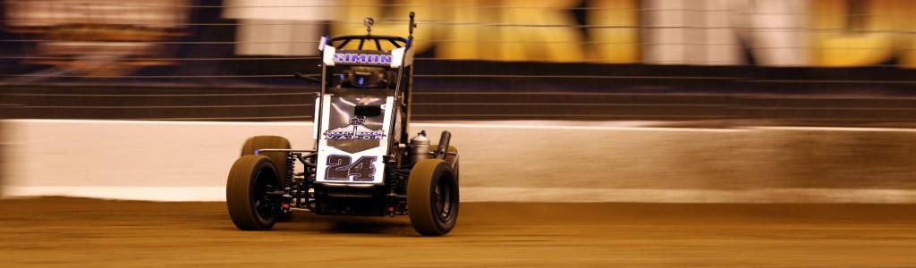 Dirt midget and sprint car test at the Gateway Dirt Nationals (VIDEO)