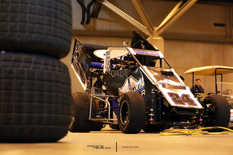 Dirt Sprint Car Test at the Gateway Dirt Nationals 2361