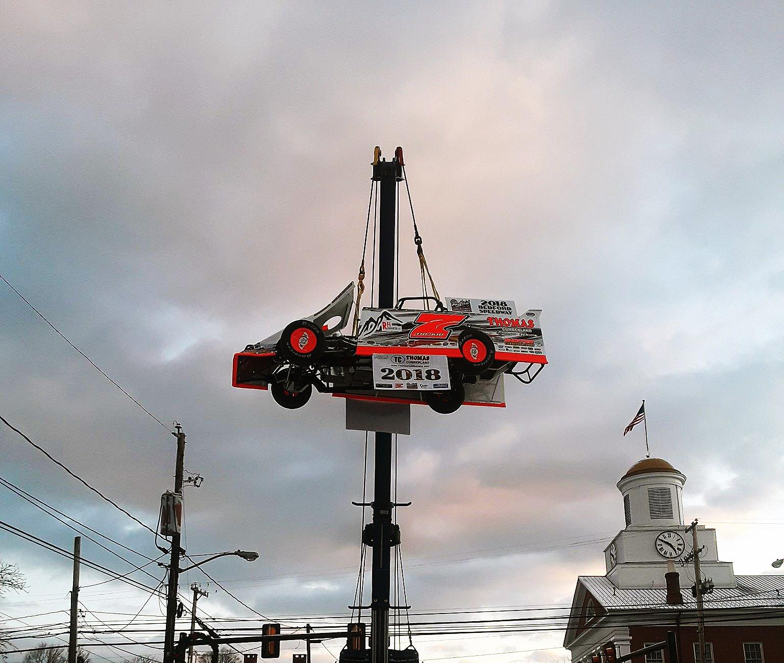 Drake Troutmans Race Car Drop 2