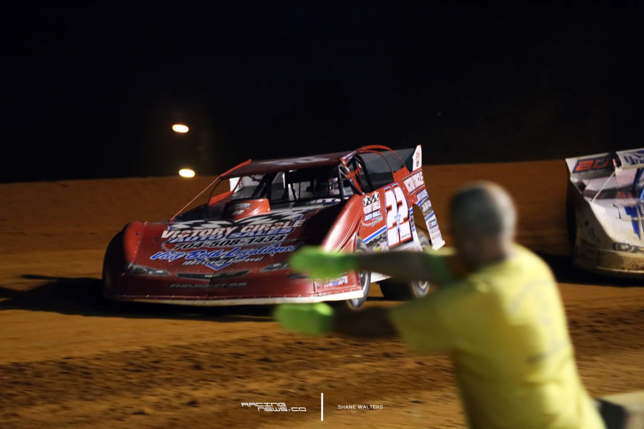G.R. Smith at Fayetteville Motor Speedway