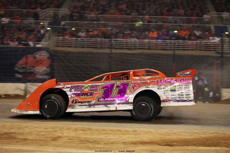Gordy Gundaker in the 2017 Gateway Dirt Nationals 4389