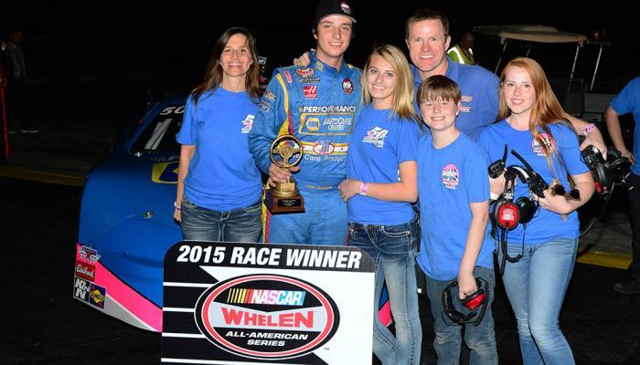 Huddleston family - Irwindale Speedway