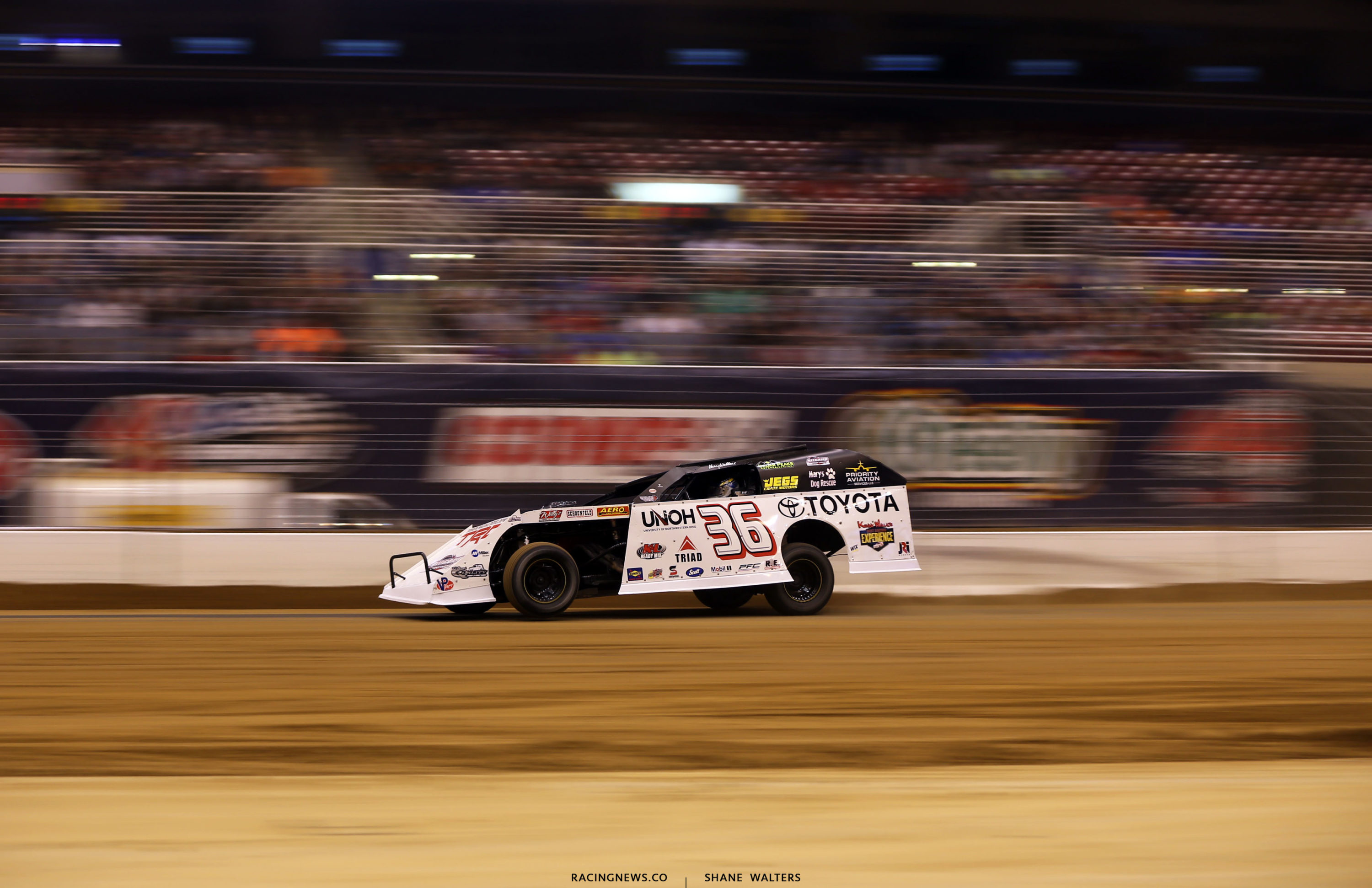 Kenny Wallace at the Gateway Dirt Nationals 3106