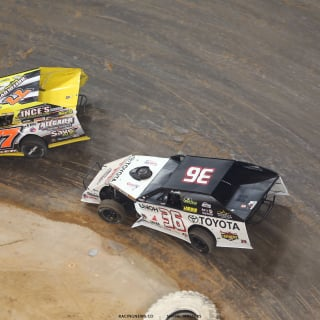 Kenny Wallace at the Gateway Dirt Nationals 5601