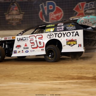 Kenny Wallace in the 2017 Gateway Dirt Nationals 4487
