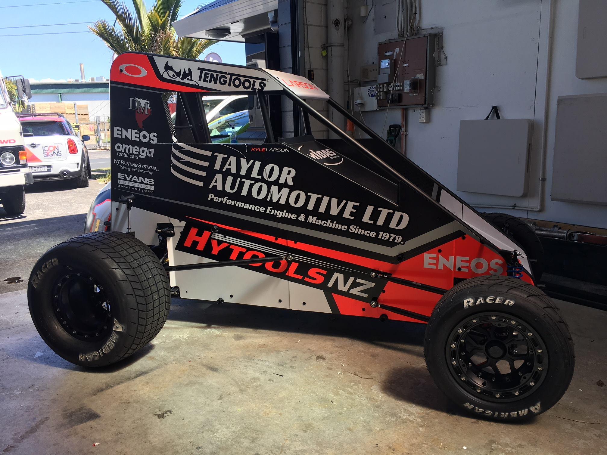Kyle Larson Midget