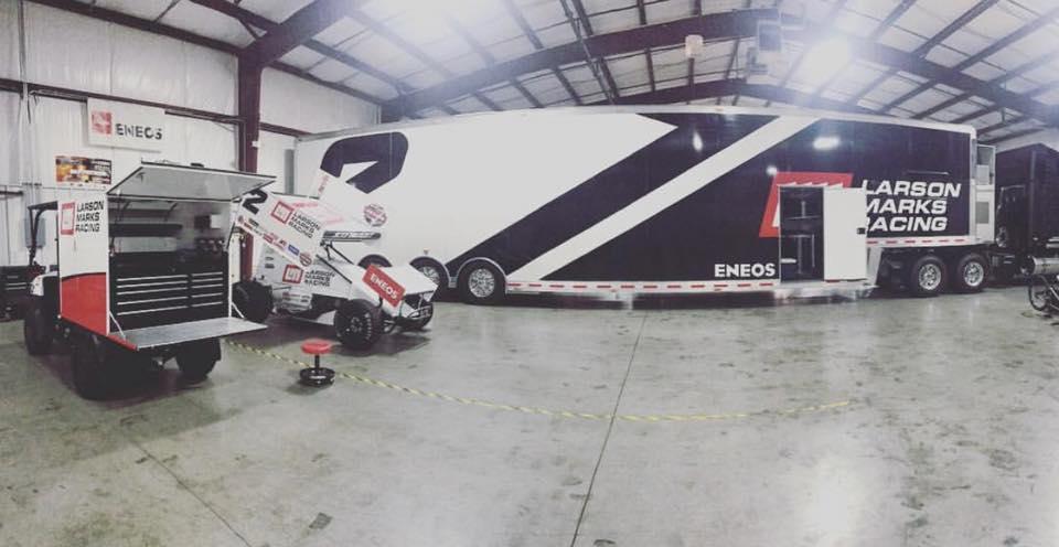 Larson Marks Racing