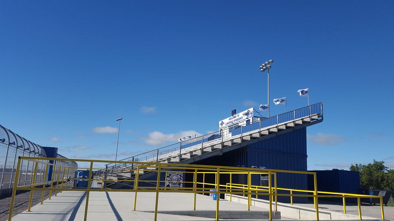 Longdale Speedway grandstands