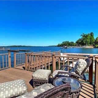 Matt Kenseth's lake home