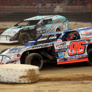 Mike McKinney and Mike Harrison at the 2017 Gateway Dirt Nationals 4496