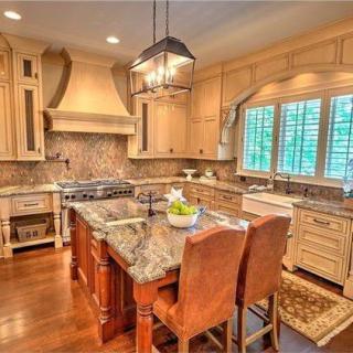 NASCAR Drivers house - Kitchen