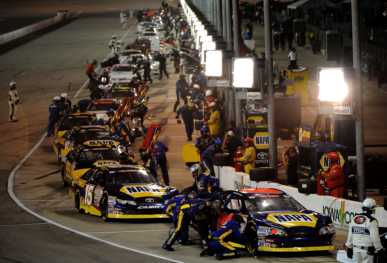 NASCAR K&N Pro Series Pit Stops