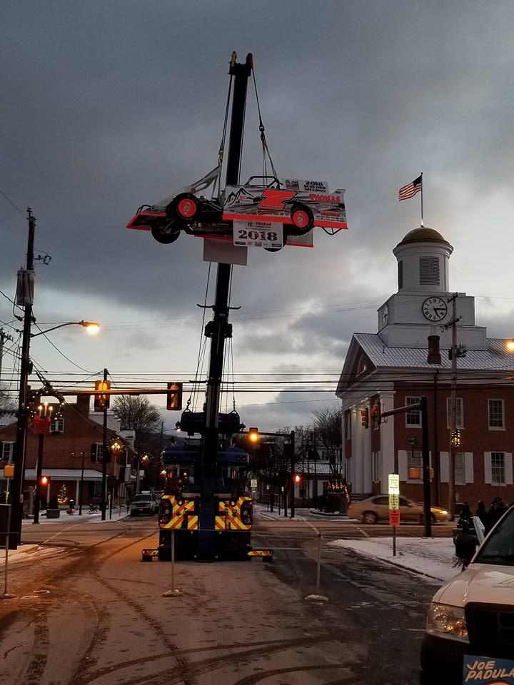 Race car drop - Bedford PA