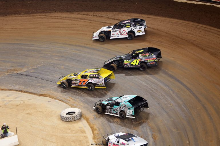 Ray Bollinger, Brent Mullins, Mike Harrison, Kenny Wallace 5542
