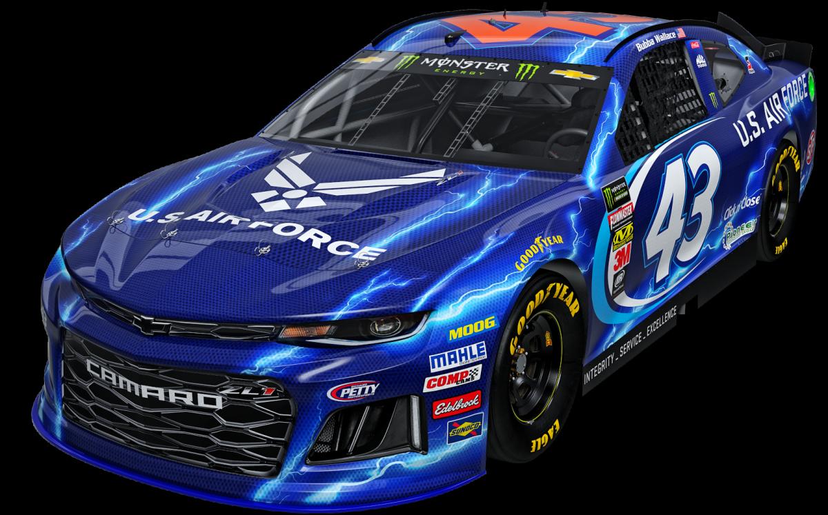 Richard Petty Motorsports- 2018 US Air Force paint scheme