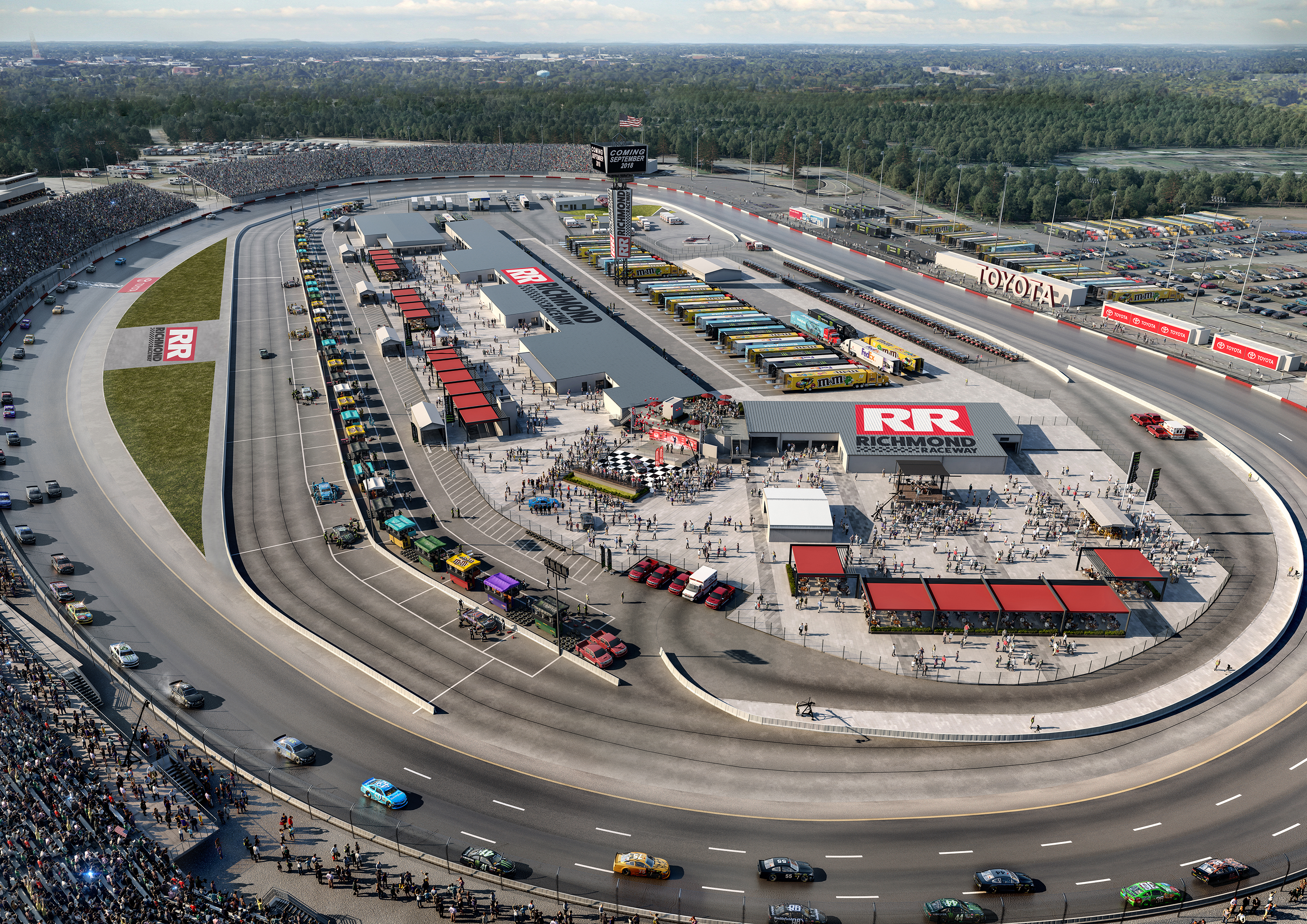 Richmond Raceway Reimagined