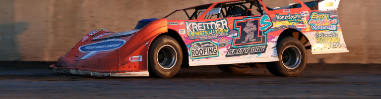 Rick Salter calls for a dirt late model drivers' council