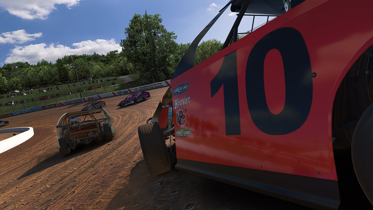 iRacing dirt modified