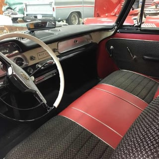 1957 DODGE SUPER D-500 interior
