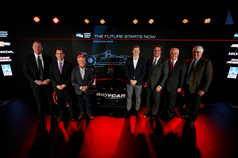 2018 Indycar Race Car launch