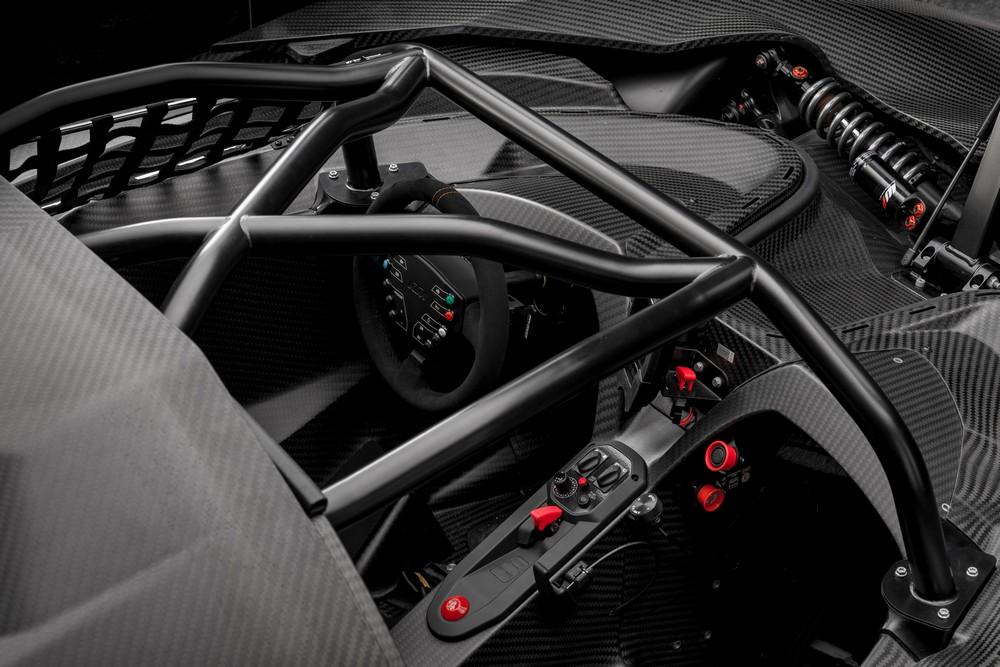 2018 KTM X-Bow cockpit photos