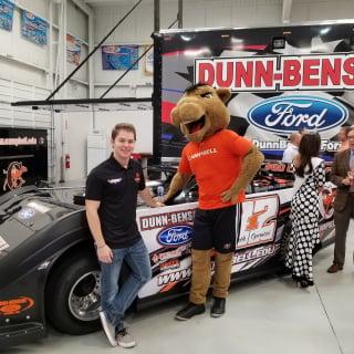 Bobby Pierce at Dunn Benson Motorsports