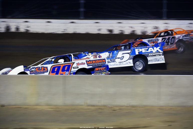 Boom Briggs and Don o'Neal at Mansfield Motor Speedway 4859