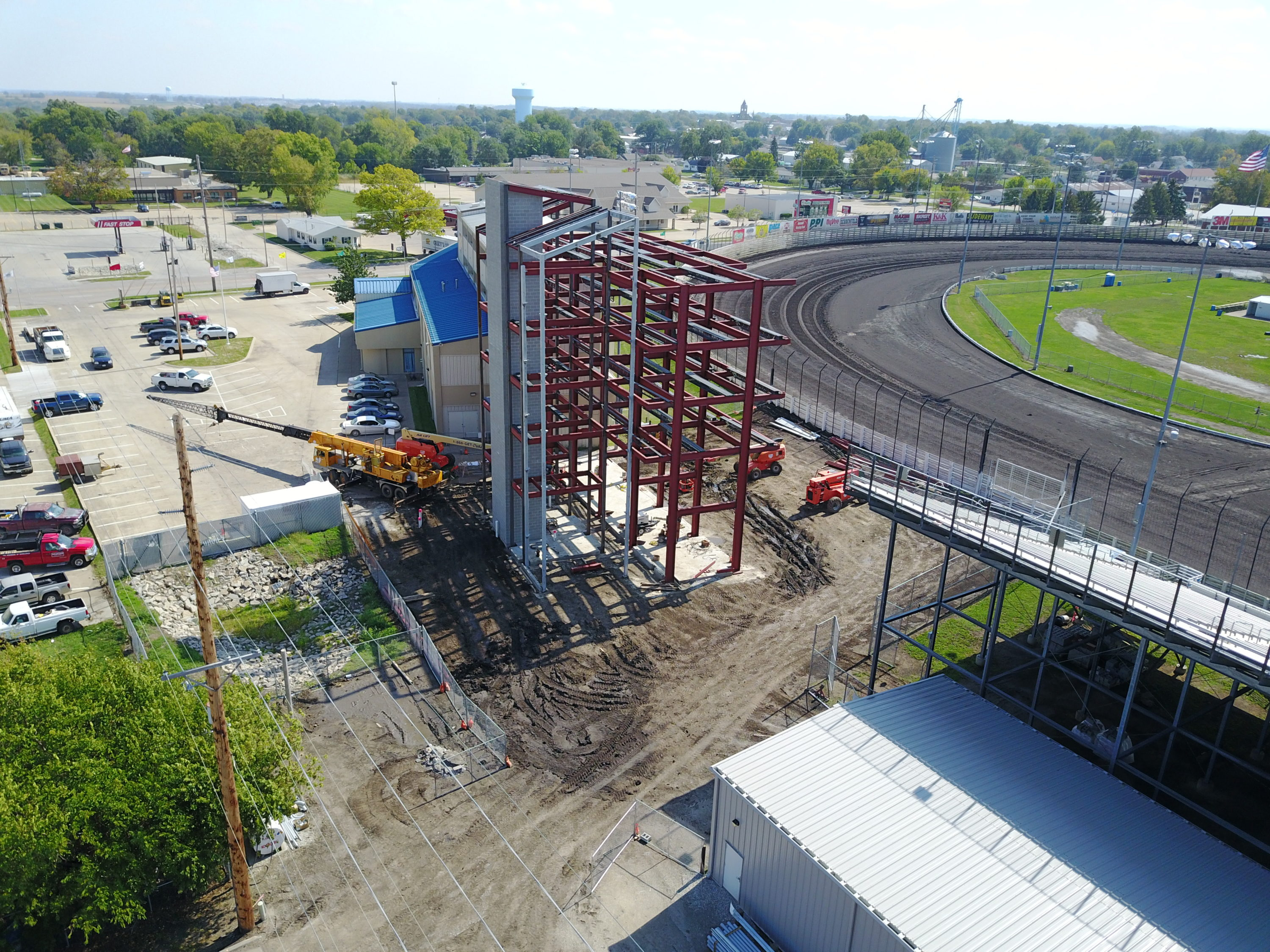 Bryan Clauson suite tower