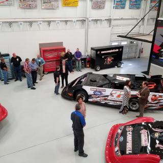 Campbell Univercity race car - Bobby Pierce