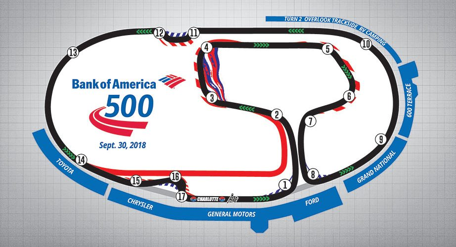 Charlotte Roval - Final Layout