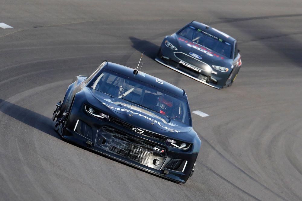 Chevrolet Camaro test - Las Vegas Motor Speedway