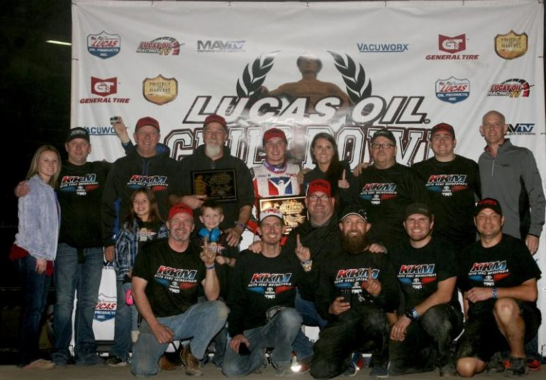 Christopher Bell wins night 3 of the 2018 Chili Bowl Nationals