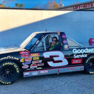 Cleetus McFarland - NASCAR truck